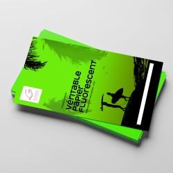 Papier Fluo vert kiwi - A4...